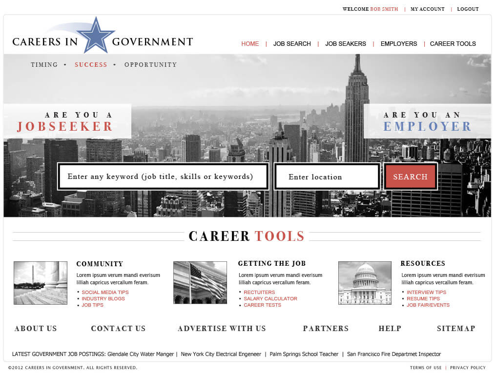 Job Board Website