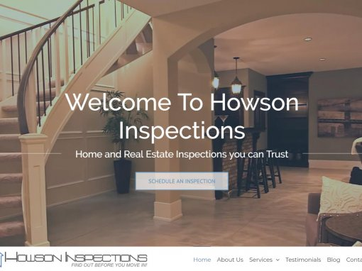 Home Inspector Website